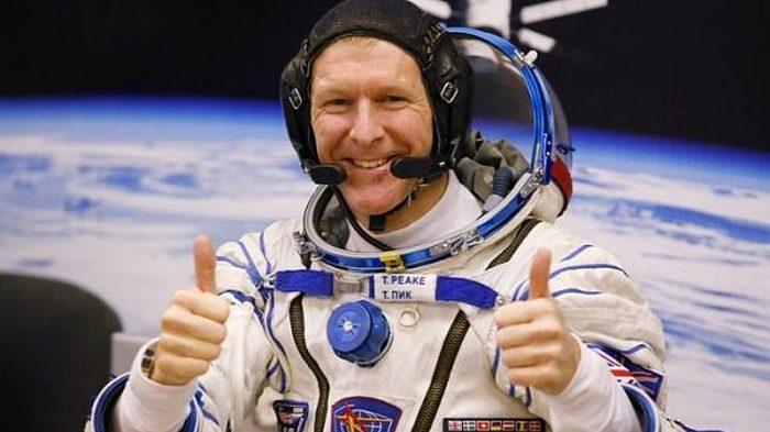 Wow, Astronot Inggris Sukses Lari Maraton di Antariksa