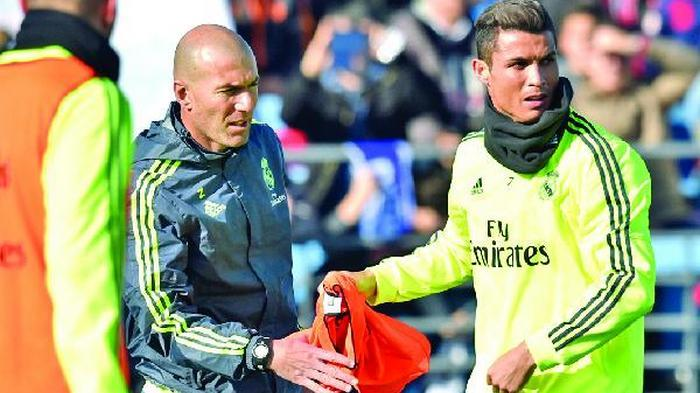 Zidane: Target Saya Madrid Juara