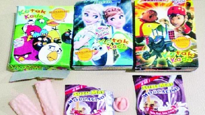 Hadiah Kondom di Kemasan Susu Tak Benar