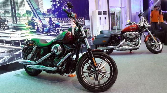 VIDEO: Modus jadi Pembeli, Pencuri ini Bawa Kabur Moge Harley saat Pura-pura Mencoba Motor