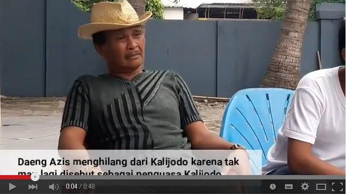 Azis Kalijodo Resmi Ditahan
