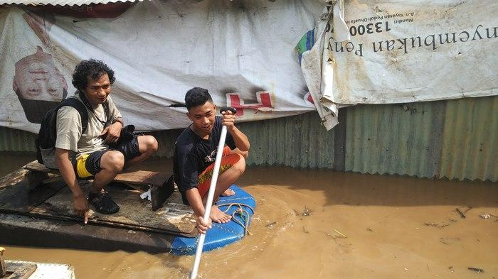 Ratusan Rumah di Depok Terendam Banjir
