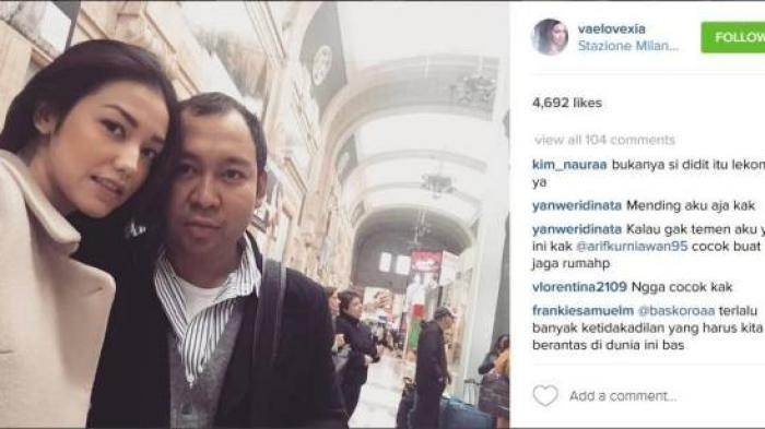 Velove Vexia-Didit Mesra, Bakal Jadi Menantu Prabowo Subianto?