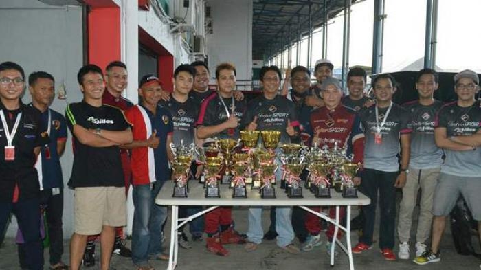 Seluruh Pembalap ABM Sumbang Piala di Seri 3 ISSOM 2016