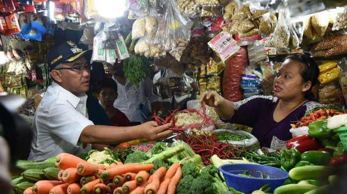 Tahu Berformalin Ditemukan Dalam Sidak Idris ke Pasar Depok Jaya
