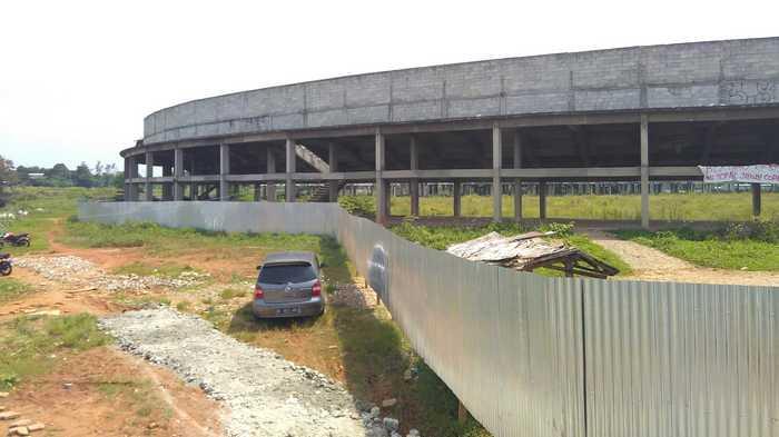Pembangunan Sport Center Kabupaten Tangerang Belum Dilanjutkan