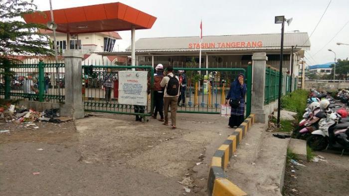 Stasiun Tangerang akan Dibuatkan Tempat Parkir