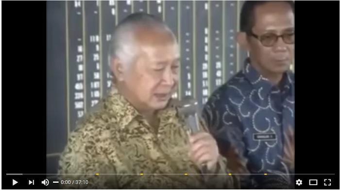 IniPidato Soeharto Saat Evakuasi Jenazah Korban G30SPKI