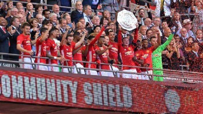 Manchester United Gilas Leicester City 2-1 di Community Shield