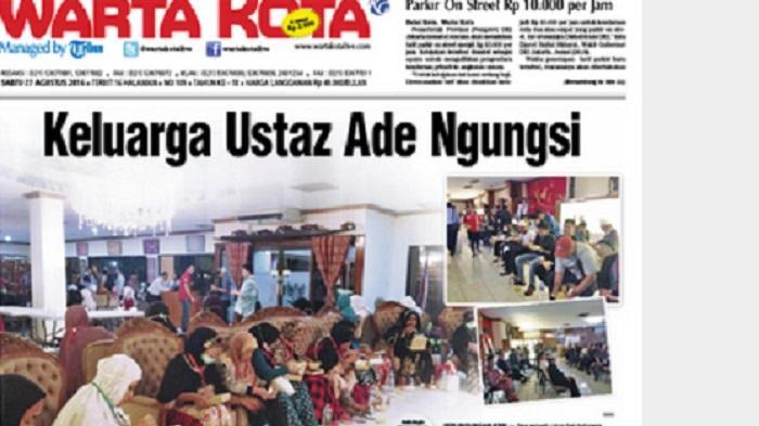 Polisi Cek Rumah Ustaz Ade Pembawa Jemaah Haji Ditahan di Filipina