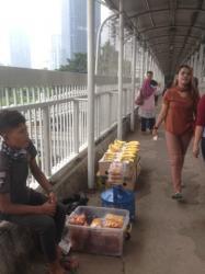 Melihat dari Dekat Kehidupan di JPO DKI Jakarta