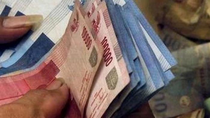 Ilustrasi - uang pesangon