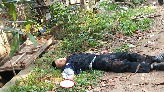 BREAKING NEWS: Anggota Polrestro Tangerang Ditusuk Satpam Ngamuk