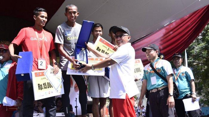 Atlit Nasional Dominasi Lomba Lari Depok 10K 2016