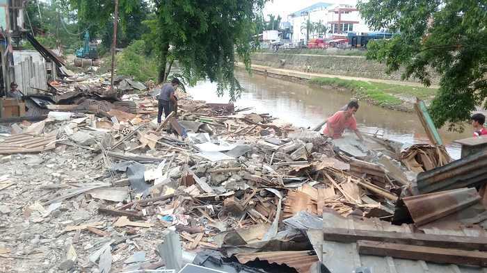 Tunggu Verifikasi BPN Jadi Alasan Bantaran Ciliwung di Kampung Arus Dibiarkan