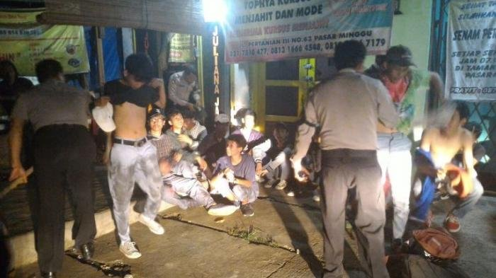 Polrestro Bekasi Jaring 28 Remaja Nyaris Tawuran di Jalanan