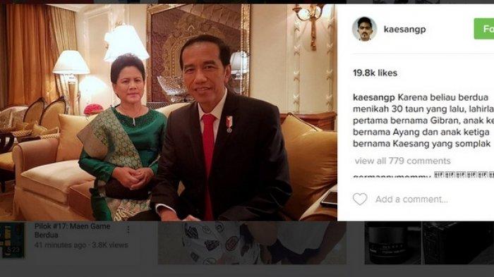Beri Selamat Ulang Tahun Perkawinan Orangtua Kaesang Sebut Dirinya Somplak Ini Komentar Netizen Warta Kota