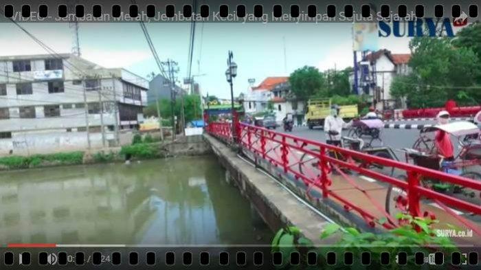 BERITA VIDEO: Jembatan Merah Surabaya, Riwayatmu Kini