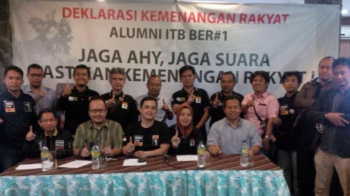 Alumni ITB Dukung Pasangan Agus-Sylvi