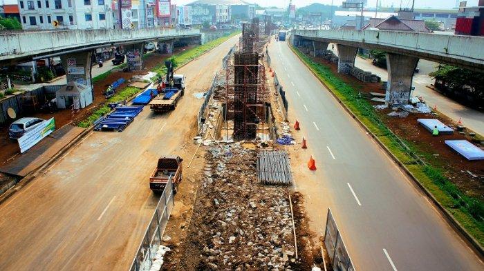 Proyek Jalan Layang Tol BORR seksi IIB Masuk Tahap Pembuatan Bore Pile
