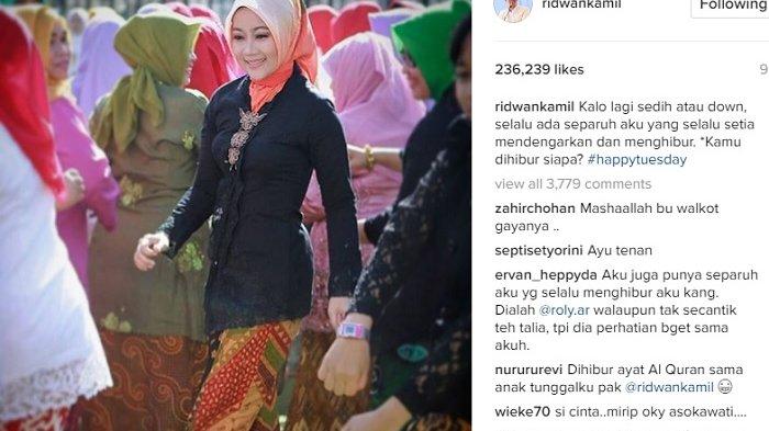Istri Wali Kota Bandung Pakai Jilbab Ini, Netizen: Kok Kayak Jilbab Biarawati Sih