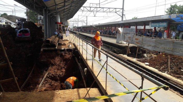 Pembangunan Underpass di 5 Stasiun Rampung Akhir April 2017
