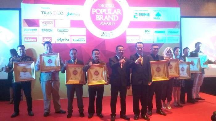 20 Merek Ini Raih Digital Popular Brand Award 2017