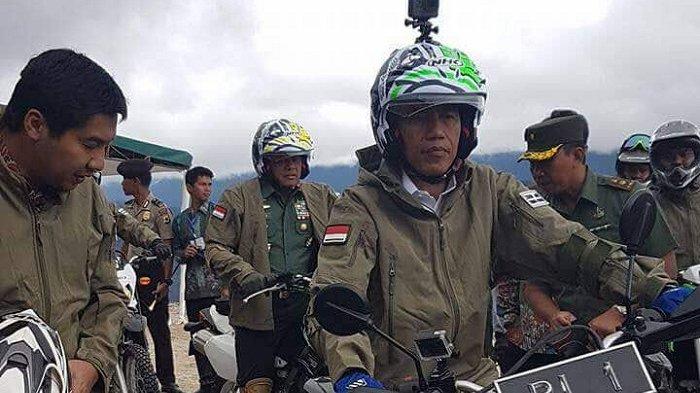 Wasekjen Gerindra Usulkan Jokowi Berkantor di Papua dan Blusukan Naik Motor Bersama Iriana