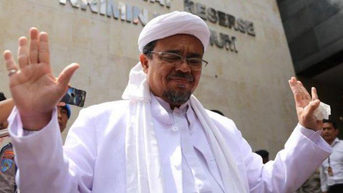 Kronologi Habib Rizieq Shihab Teriak Kesakitan dan Nyaris Pingsan, Sesak Napas, Asam Lambung Kambuh