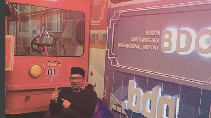 Inilah Tempat Selfie Khusus di Bandung yang Disiapkan Ridwan Kamil untuk Netizen