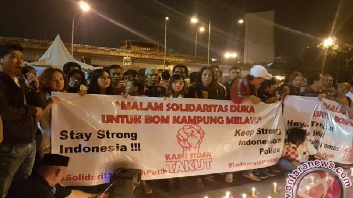 Posting Ledakan Kampung Melayu Rekayasa di FB, Pemilik Akun FB Ditangkap