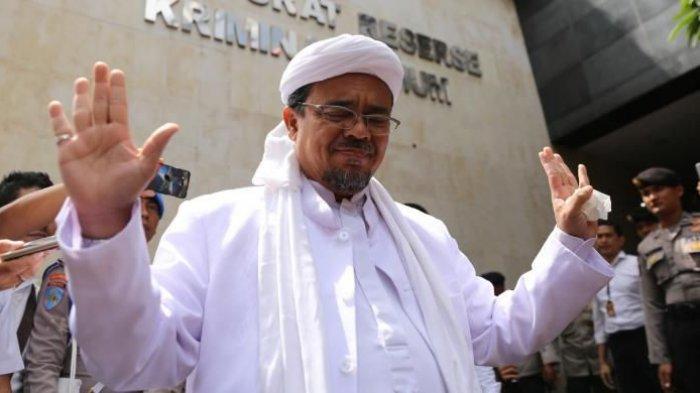 Rizieq Pidato Lewat Telepon dari Arab