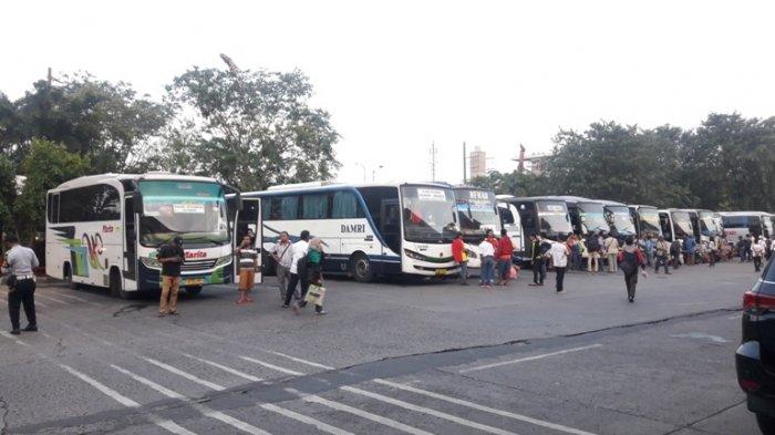 Sepekan Jelang Lebaran Penumpang Bus Terminal Kampung Rambutan Meningkat 20 persen