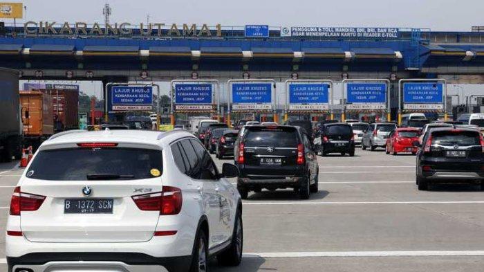Macet di Tol Cikarang Utama, Kendaraan Dialihkan ke Tol Cikarang Barat