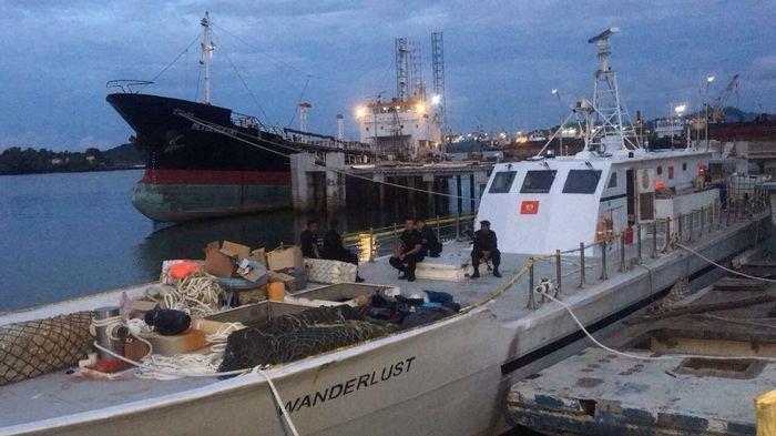 Polisi Berhasil Amankan Kapal yang Mengangkut Satu Ton Sabu di Anyer