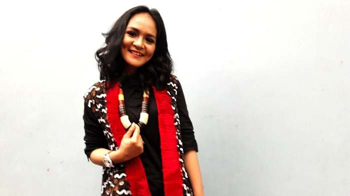 Chairunnisa, mantan istri Andika Kangen Band, saat ditemui di Trans TV, Jalan Kapten Tendean, Mampang Prapatan, Jakarta Selatan, Kamis (20/7/2017).
