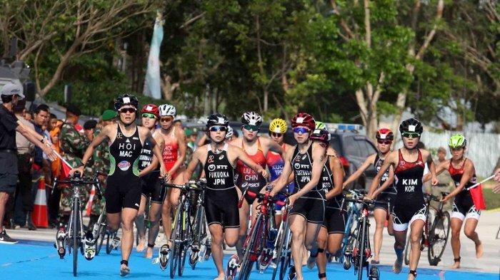 Kejuaraan Asia Triathlon Jadi AjangTest EventJelang Asian Games 2018