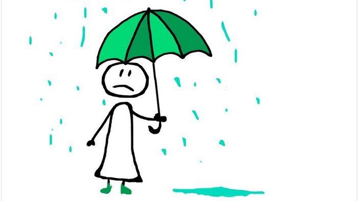 Sedia Payung, Sebagian Jabodetabek Bakal Diguyur Hujan