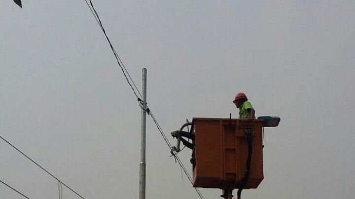 Pemasangan 2.950 Lampu LED di Jakarta Barat Dipastikan Selesai Oktober