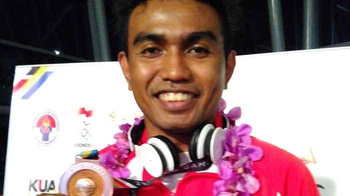 Bawa Satu-satunya Medali, Indra Puas