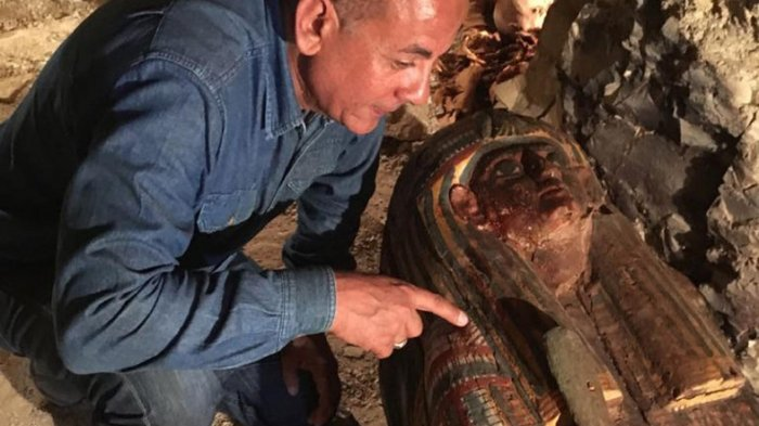 Makam Pandai Emas Dekat Luxor Ditemukan Arkeolog Mesir