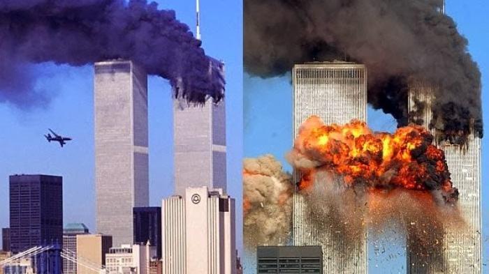 Tragedi Runtuhnya WTC AS 9/11 Sisakan Pertanyaan: Akibat Ditabrak Pesawat atau Bom?