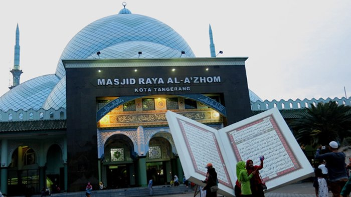 Besok, Masjid Al Azhom Kota Tangerang Rayakan Tahun Baru Islam dengan Beragam Acara