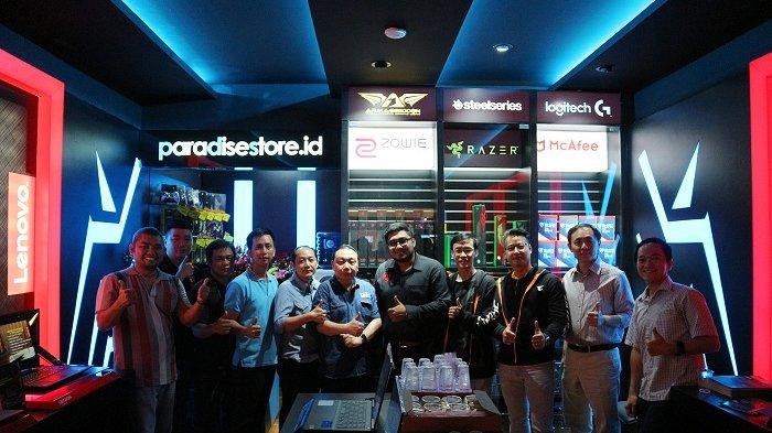 Paradise Store Buka Gaming Zone, Toko bagi Para Pencinta Game