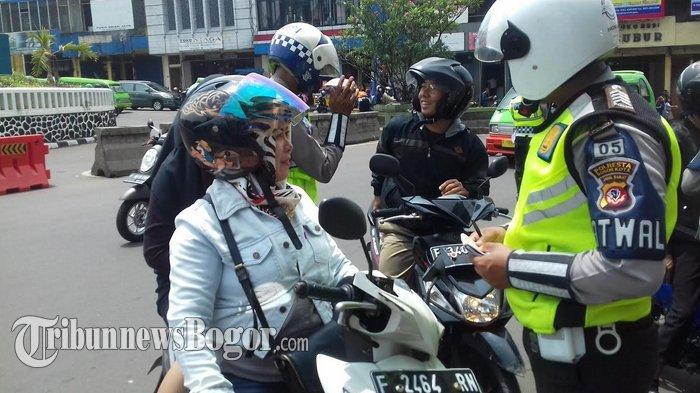 Pemotor Jangan Coba Pakai Knalpot Racing ke Kota Bogor, Kalau Tidak Mau Ditilang