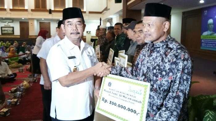 Bazis Bantu 7 Pembangunan Masjid dan 2 Musala di Daerah Jakarta Pusat