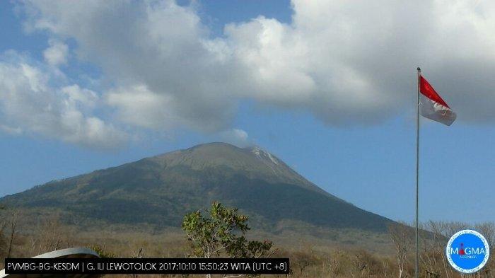 Cuma Berita Hoax, Gunung Ili Lewotolok Tidak Meletus