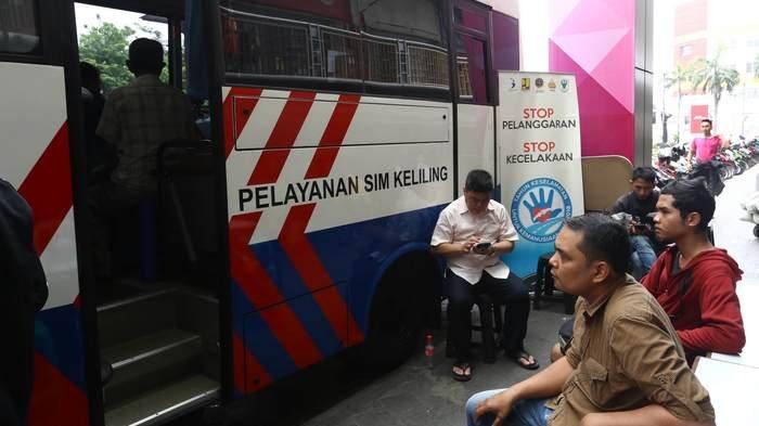 Lokasi SIM Keliling dan Gerai Samsat di Jakarta Hari Selasa (12/2/2019)