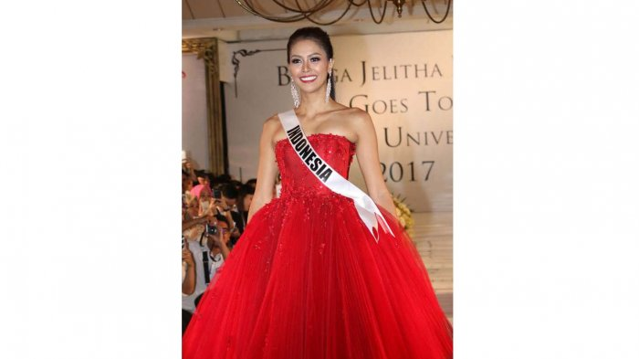 Bekal Modeling Bunga Jelitha Siapkan Kemenangan Miss Universe 2017