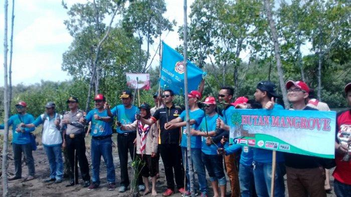 Khawatir Bencana Abrasi, Komunitas Terios Indonesia Tanam 1000 Pohon Mangrove